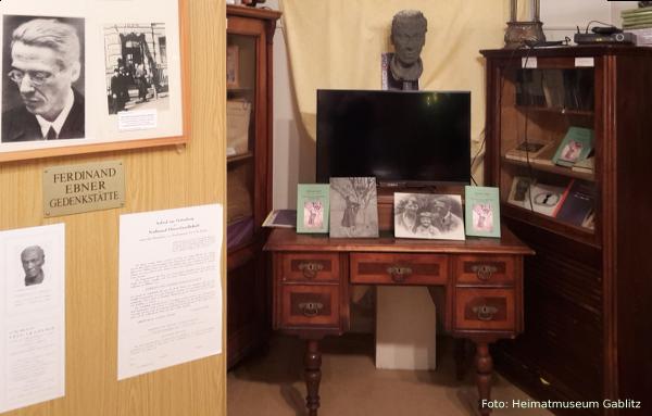 Sonderausstellung zu Ferdinand Ebner im Heimatmuseum Gablitz