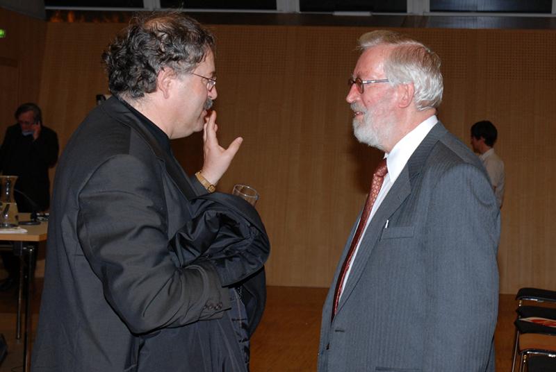 Herbert Pietschmann und Christian Paul Berger