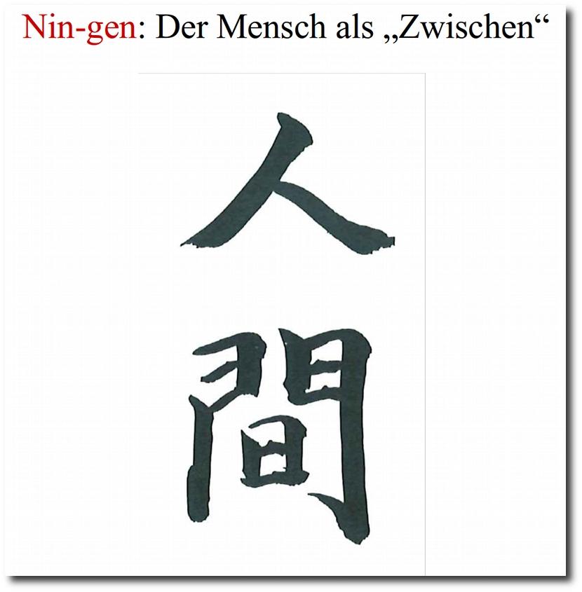 Nin-gen: Der Mensch als Zwischen