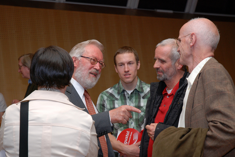 Herbert Pietschmann im Gespräch mit dem Auditorium