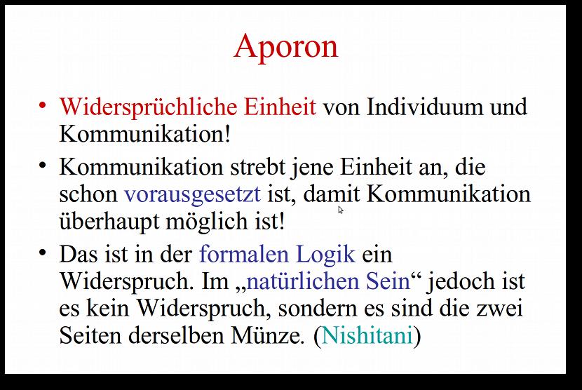 Herbert Pietschmann: Aporon