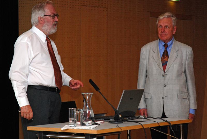 Herbert Pietschmann und Walter Methlagl